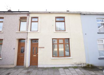 Thumbnail 2 bed terraced house for sale in Yew Street, Aberbargoed, Bargoed
