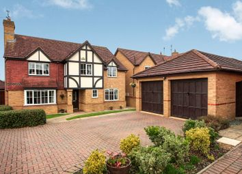 Thumbnail 5 bed detached house for sale in Gretton Close, Peterborough