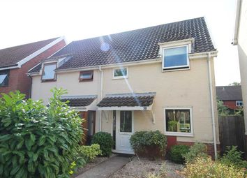 Thumbnail 3 bed semi-detached house for sale in Farriers Close, Martlesham Heath, Ipswich