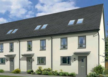 "Thumbnail 3 bedroom end terrace house for sale in ""Lochranza"" at Gyle Avenue, South Gyle Broadway, Edinburgh"