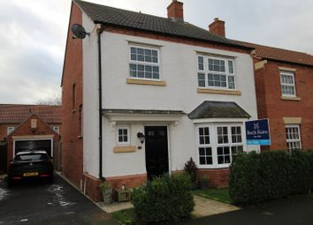 Thumbnail 3 bedroom detached house for sale in Longbridge Drive, Easingwold, York, North Yorkshire