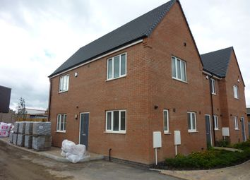 Thumbnail 3 bed end terrace house for sale in Co-Op Close, Barwell, Leicester