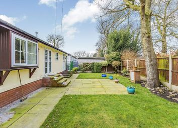 Thumbnail 2 bed bungalow for sale in Long Shoot Mount Pleasant Residential Park, Goostrey, Crewe