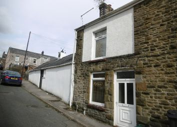 Thumbnail 1 bed end terrace house for sale in Quarr Road, Pontardawe, Swansea.