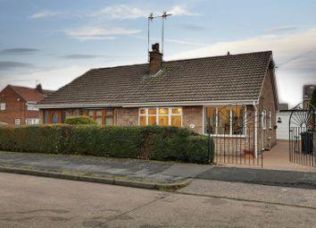 Thumbnail 2 bed semi-detached bungalow for sale in Ridgestone Avenue, Bilton, Hull