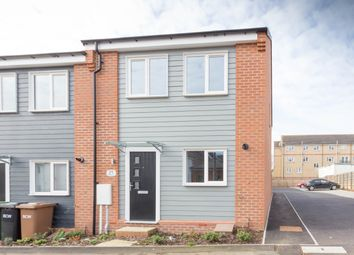 Thumbnail 3 bed end terrace house for sale in Castle View, Brook Street East, Wellingborough