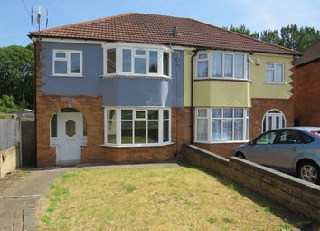 Thumbnail 3 bedroom semi-detached house for sale in Cardington Avenue, Great Barr, Birmingham