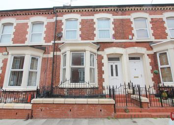 Thumbnail 4 bed town house for sale in Sybil Road, Anfield, Liverpool