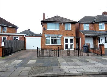 Thumbnail 3 bed detached house for sale in Lydford Road, Northfields, Leicester