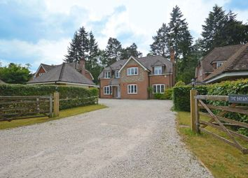 Thumbnail 5 bed detached house for sale in Oakhill Road, Headley Down, Bordon