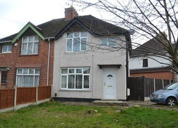 Thumbnail 3 bed semi-detached house to rent in Sycamore Road, Delves, Walsall