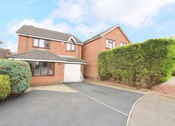 Thumbnail 4 bedroom detached house for sale in Perivale Close, Nuthall, Nottingham