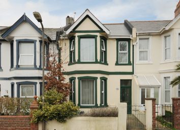Thumbnail 4 bedroom terraced house for sale in Studley Road, Torquay