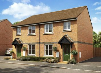 "Thumbnail 3 bed semi-detached house for sale in ""The Flatford "" at Manston View, Tamworth"