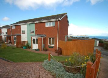Thumbnail 2 bed semi-detached house for sale in Waterleat Close, Paignton