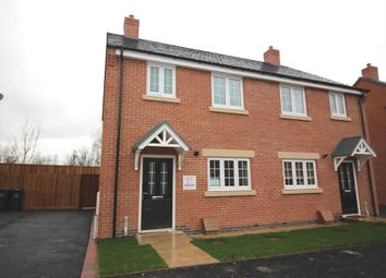 Thumbnail 3 bedroom semi-detached house for sale in Border Close, Glenfield, Leicester