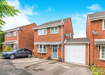 Thumbnail 3 bed detached house for sale in Yew Tree Avenue, Lichfield