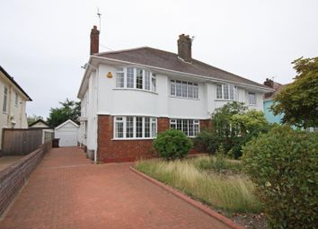 Thumbnail 4 bed semi-detached house for sale in Clovelly Drive, Hillside, Southport