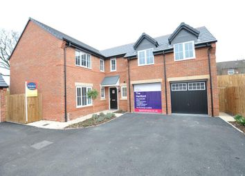 Thumbnail 4 bed detached house for sale in Plough Close, Brook Road, Tarporley, Cheshire