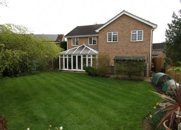 Thumbnail 5 bed detached house for sale in Huxley Close, Newport Pagnell, Buckinghamshire