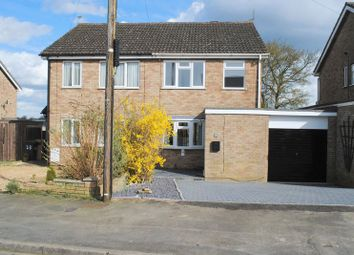 Thumbnail 3 bed semi-detached house for sale in Evelyn Way, Irchester, Wellingborough