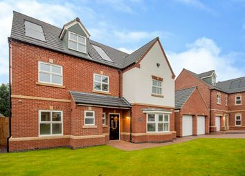Thumbnail 6 bed detached house for sale in Woodborough Road, Nottingham