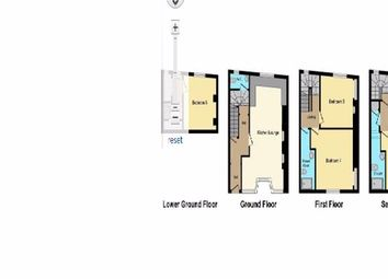 Thumbnail 5 bed terraced house to rent in Napier Terrace, Exeter