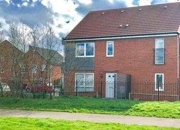 Thumbnail 2 bedroom end terrace house for sale in Booth Rise, Northampton