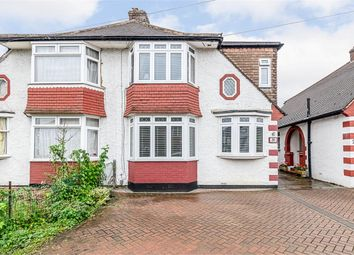 4 bed semi-detached house for sale in Caversham Avenue, Cheam, Surrey SM3