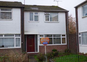 Thumbnail 3 bed terraced house for sale in Carmarthen Close, Farnborough