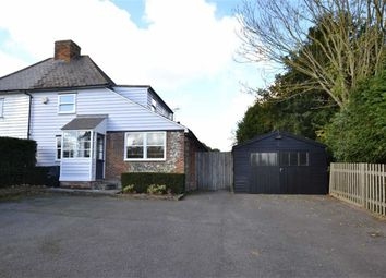 Thumbnail 3 bed cottage to rent in The Street, Hartlip, Sittingbourne
