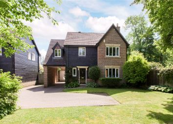 Thumbnail 4 bed detached house for sale in Garrett Close, Kingsclere, Newbury, Hampshire