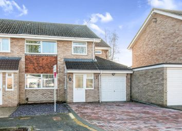 Thumbnail 4 bedroom end terrace house for sale in Friars Croft, Calmore, Southampton