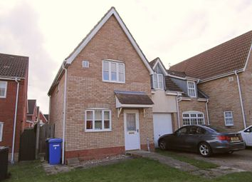 Thumbnail 3 bed link-detached house to rent in Dawson Mews, Lowestoft