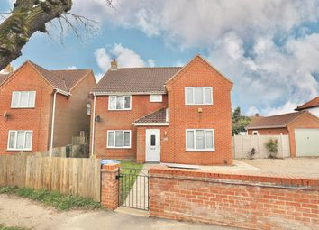 Thumbnail 4 bed detached house for sale in Hall Road, Norwich