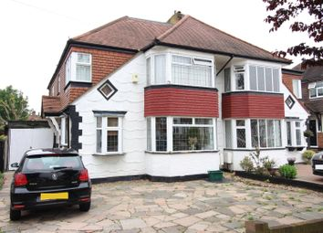 Thumbnail 6 bed semi-detached house for sale in Gayfere Road, Stoneleigh, Epsom