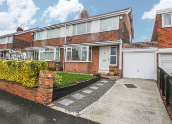 Thumbnail 3 bed semi-detached house for sale in Colegate West, Gateshead