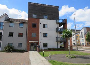 Thumbnail 3 bed flat for sale in Somerset Walk, Broughton, Milton Keynes