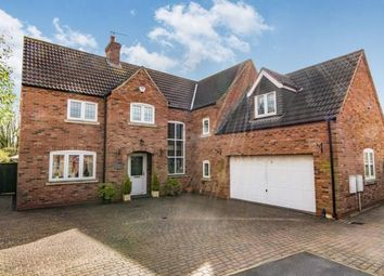 Thumbnail 6 bed detached house for sale in Lock Keepers Way, Louth, Lincolnshire