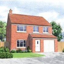 Thumbnail 3 bed detached house for sale in Moor Lane, Branston