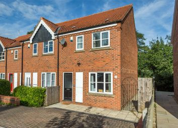 Thumbnail 2 bedroom end terrace house for sale in Foss Court, Huntington Road, York