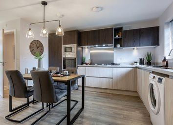 """Thumbnail 3 bed semi-detached house for sale in """"The Queensbridge"""" at Alfreton Road, South Normanton, Alfreton"""