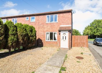 Thumbnail 2 bed semi-detached house for sale in Walton Way, Newbury
