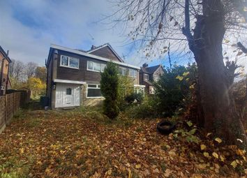 Thumbnail 3 bed semi-detached house for sale in Boothroyden Road, Blackley, Manchester