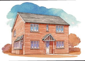 Thumbnail 3 bed detached house for sale in Gynsill Lane, Glenfield, Leicester