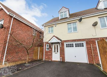 Thumbnail 3 bedroom town house to rent in Codlins Lane, Beccles