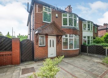 Thumbnail 3 bed semi-detached house to rent in Mauldeth Road, Withington, Manchester