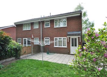 Thumbnail 1 bed terraced house to rent in Lordswood Close, Webheath, Redditch