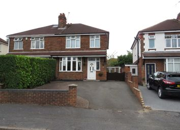 Thumbnail 3 bed semi-detached house for sale in Elms Avenue, Littleover, Derby