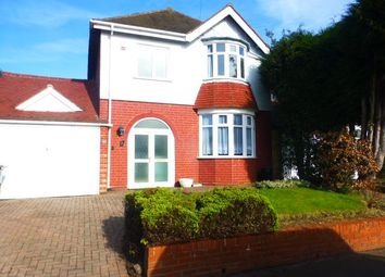 Thumbnail 3 bed detached house to rent in Elm Tree Road, Harborne, Birmingham